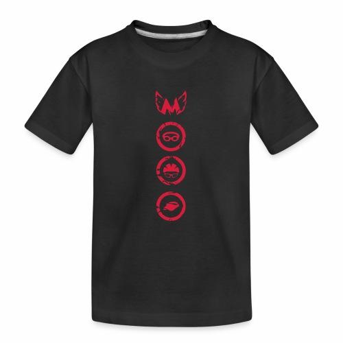 Mosso_run_swim_cycle - Maglietta ecologica premium per ragazzi