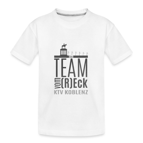 Shirt_Logo_2016_grau - Teenager Premium Bio T-Shirt