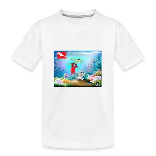 jesuis sharkie jpg - Camiseta orgánica premium adolescente