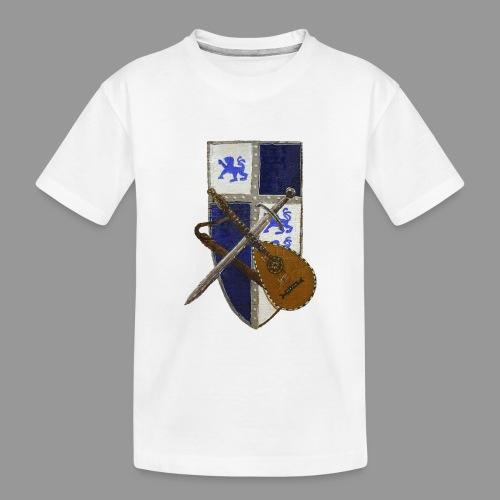 vonardingen_wappen - Teenager Premium Bio T-Shirt