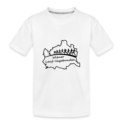 Laufvagabunden T Shirt - Teenager Premium Bio T-Shirt