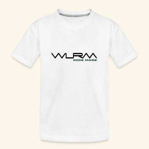 WLRM Schriftzug black png - Teenager Premium Bio T-Shirt