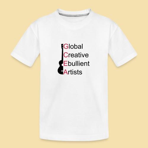 GCEA Global Creative Ebullient Artists - Teenager Premium Bio T-Shirt