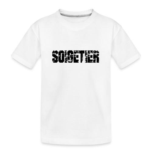 logo bad1 - Teenager Premium Bio T-Shirt