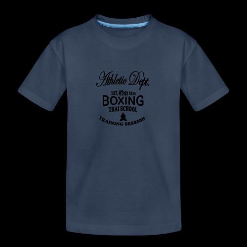 (high_school_couleur_uni) - T-shirt bio Premium Ado