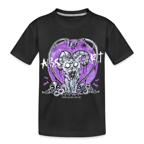Kitty von Absurd ART - Teenager Premium Bio T-Shirt