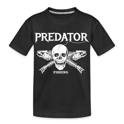 Predator Fishing T-Shirt - Teenager Premium Bio T-Shirt