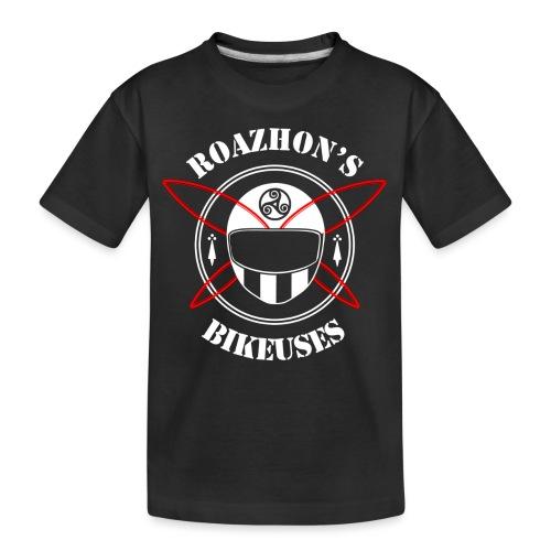 Roazhon's Bikeuses Rennes - T-shirt bio Premium Ado