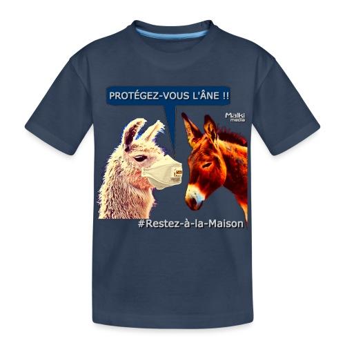 PROTEGEZ-VOUS L'ÂNE !! - Coronavirus - Teenager Premium Organic T-Shirt