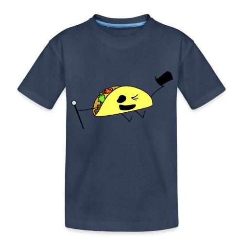 Fancy Taco - Ekologisk premium-T-shirt tonåring
