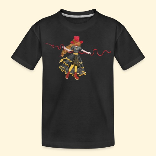 Ladybird - La célèbre uchronaute - T-shirt bio Premium Ado