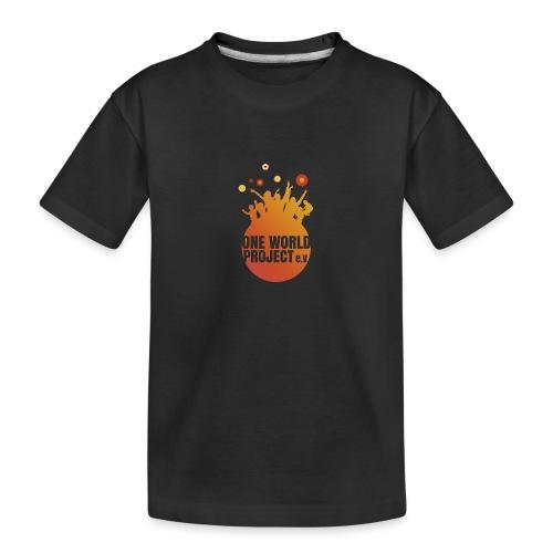 One World Project e. V. - Logo - Teenager Premium Bio T-Shirt