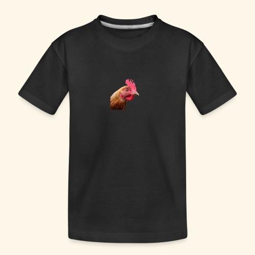 chicken PNG2159 - Teinien premium luomu-t-paita