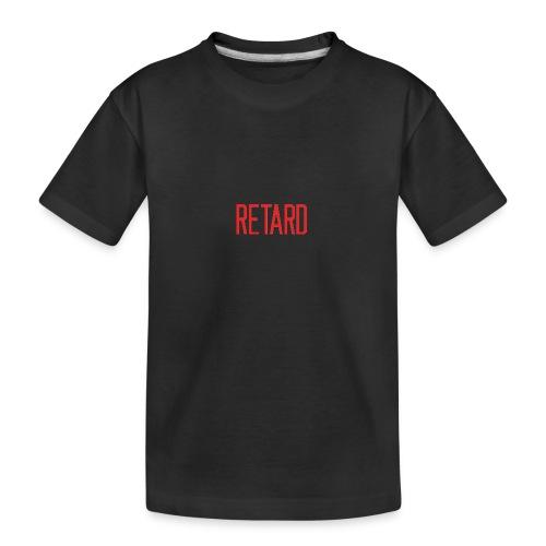 Retard Klær - Premium økologisk T-skjorte for tenåringer
