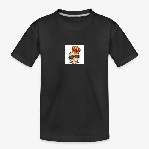 My king - Ekologisk premium-T-shirt tonåring