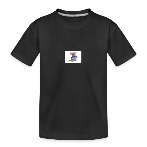 rotte - Teenager premium T-shirt økologisk