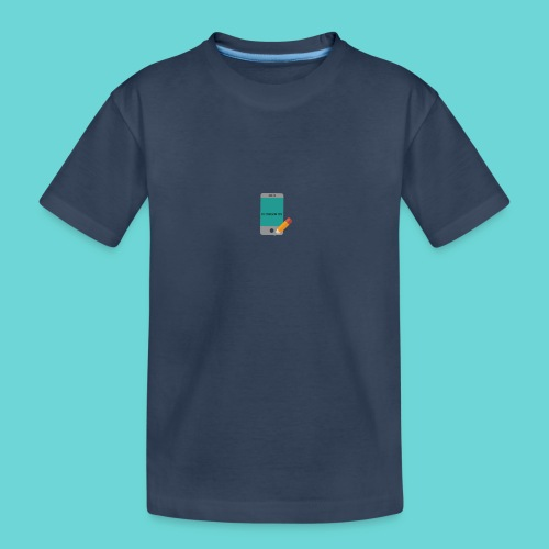 phone merch - Teenager Premium Organic T-Shirt