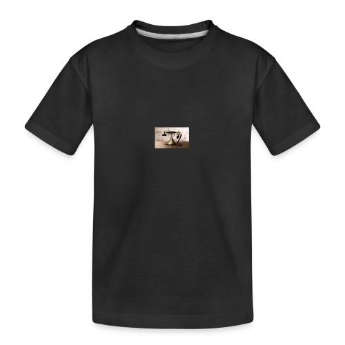 telefono - Camiseta orgánica premium adolescente
