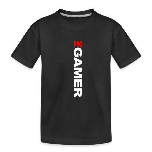 Pro Gamer (weiss) - Teenager Premium Bio T-Shirt