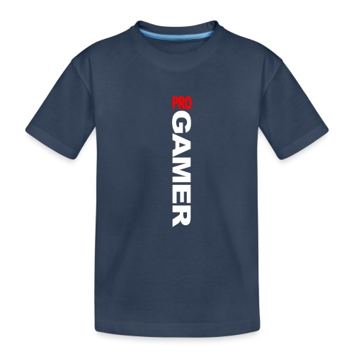 Pro Gamer (weiss) - Teenager Premium Bio T-Shirt