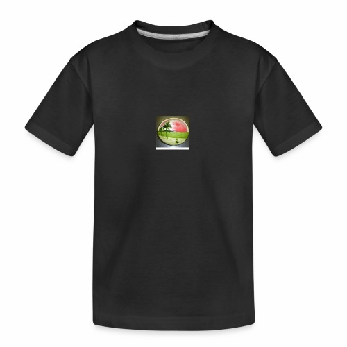 melon view - Teenager Premium Organic T-Shirt