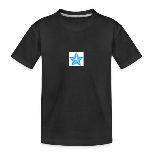 blue themed christmas star 0515 1012 0322 4634 SMU - Teenager Premium Organic T-Shirt