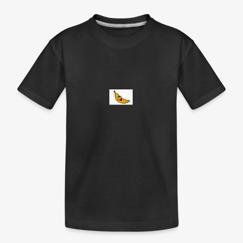 Bananana splidt - Teenager premium T-shirt økologisk