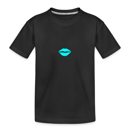 Blue kiss - Teenager Premium Organic T-Shirt