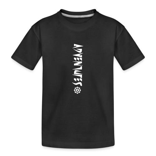 Jebus Adventures Vertical Stripe - Teenager Premium Organic T-Shirt