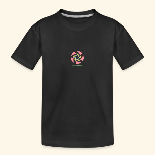 GOOD FLOWER - Camiseta orgánica premium adolescente