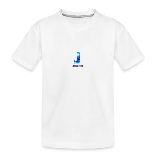 JULIAN EN CO MERCH - Teenager premium biologisch T-shirt