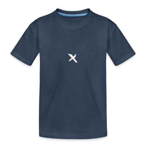 X-v02 - Camiseta orgánica premium adolescente