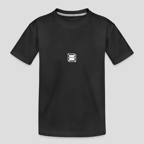 Squared Apparel White Logo - Teenager Premium Organic T-Shirt