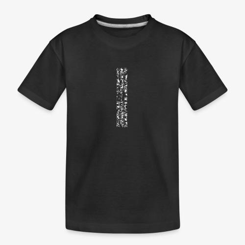 LF camo stripes - Ekologisk premium-T-shirt tonåring