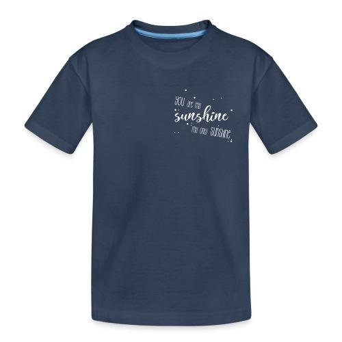 shirtsbydep sunshine - Teenager premium biologisch T-shirt