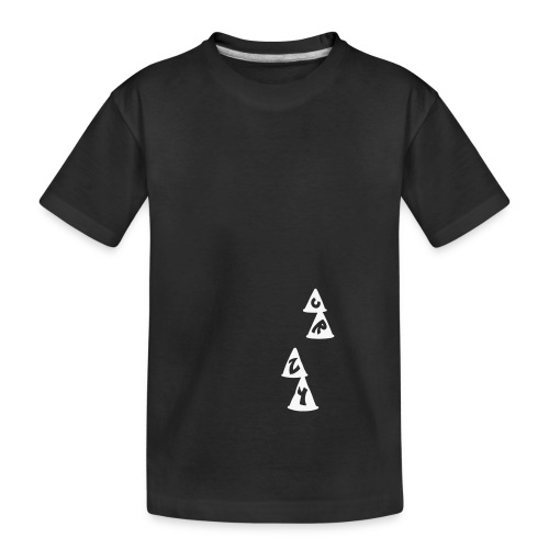 Conos CRZY: CR - Camiseta orgánica premium adolescente