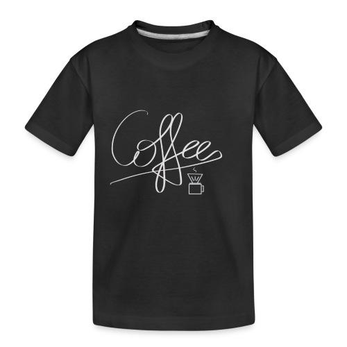 Coffee - Teenager Premium Bio T-Shirt