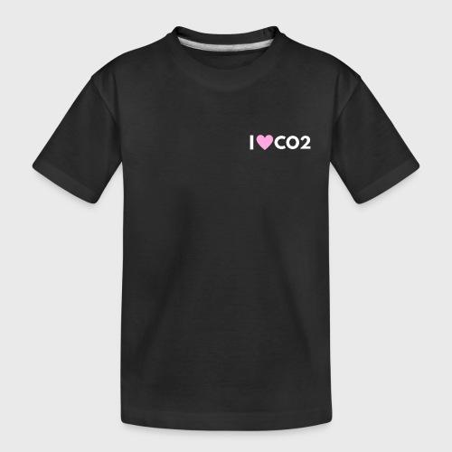 I LOVE CO2 - Teinien premium luomu-t-paita