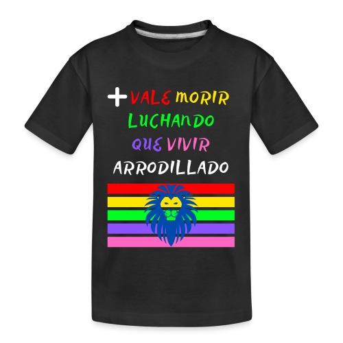 Mas Vale Morir Luchando - Camiseta orgánica premium adolescente