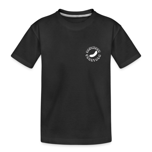 Saucisse Végétale Black - Teenager Premium Organic T-Shirt