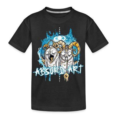 Karl & Bob von Absurd ART - Teenager Premium Bio T-Shirt