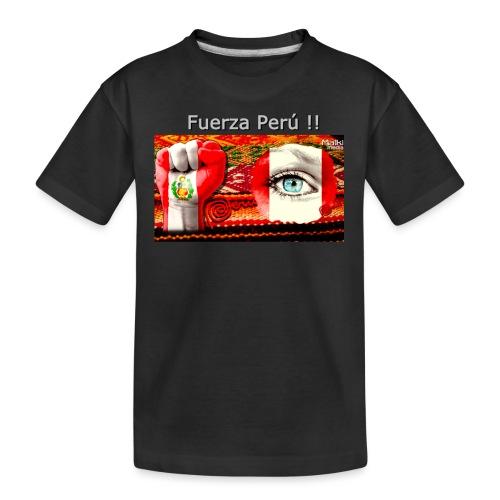 Telar Fuerza Peru I - Camiseta orgánica premium adolescente