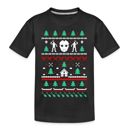 Ugly Friday 13th Crystal Lake - T-shirt bio Premium Ado