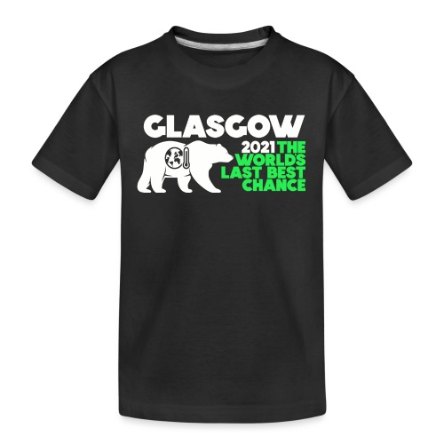 Last Best Chance - Glasgow 2021 - Teenager Premium Organic T-Shirt