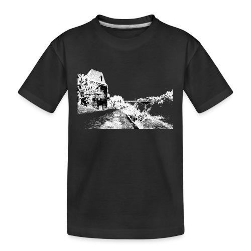 J'aime Mouleydier - Pont F - T-shirt bio Premium Ado