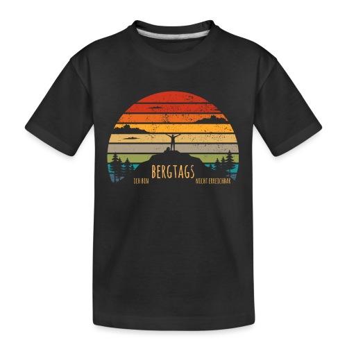 lustige Wanderer Sprüche Shirt Geschenk Retro - Teenager Premium Bio T-Shirt
