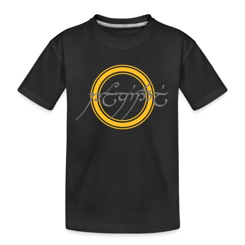 Tolkiendil en tengwar - T-shirt bio Premium Ado