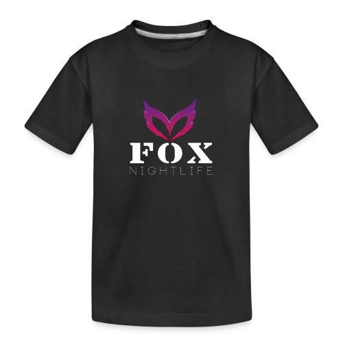Vrienden van Fox Nightlife - Teenager premium biologisch T-shirt