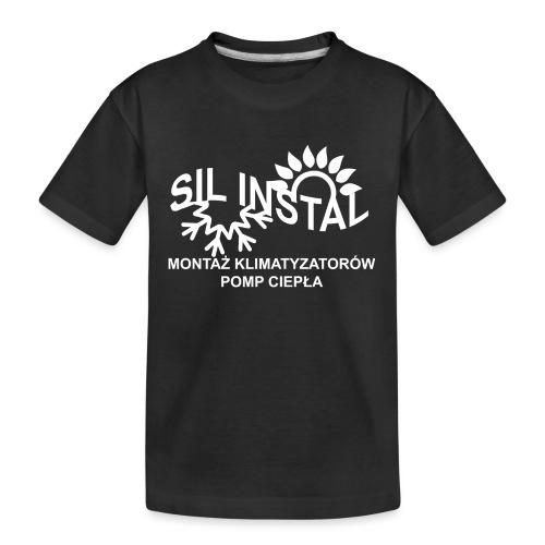 sil instal - Ekologiczna koszulka młodzieżowa Premium