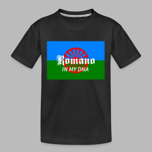 flaglennyinmydna - Ekologisk premium-T-shirt tonåring